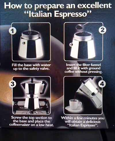 how to prepare coffee with a bialetti-stove-top-coffee-maker