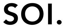 SOI handbag light logo